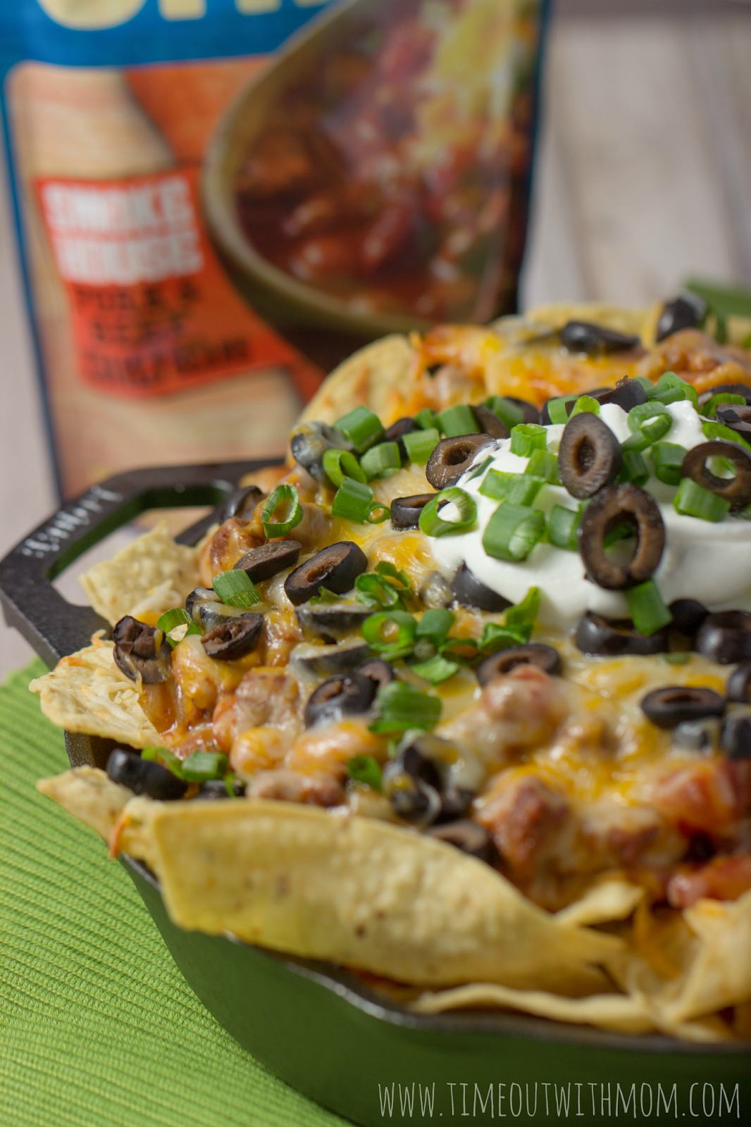 Game Day Chili Cheese Nachos with Progresso Chili