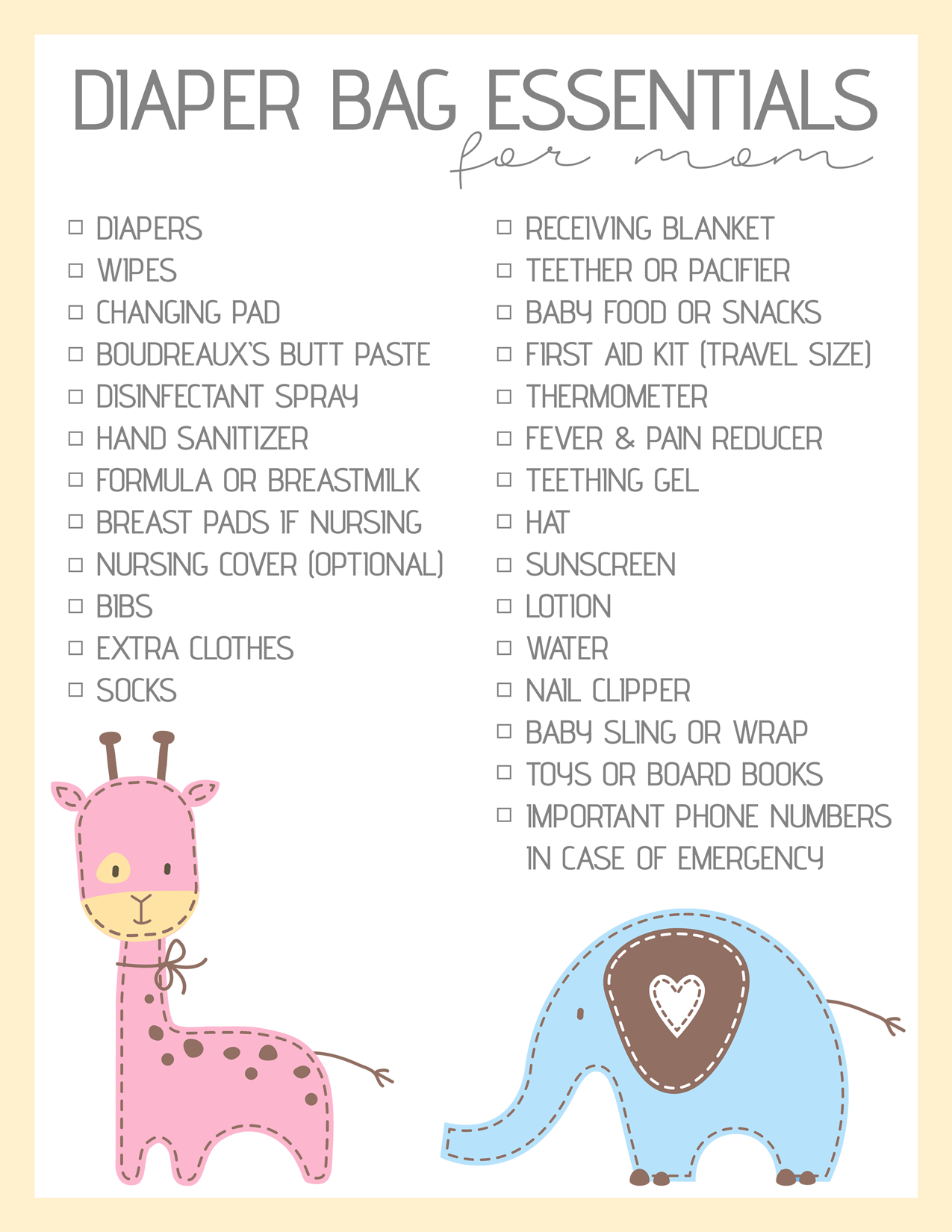 Diaper-Bag-Essentials-Printable